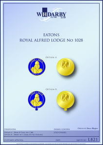 Royal Alfred Lodge Lapel Pins